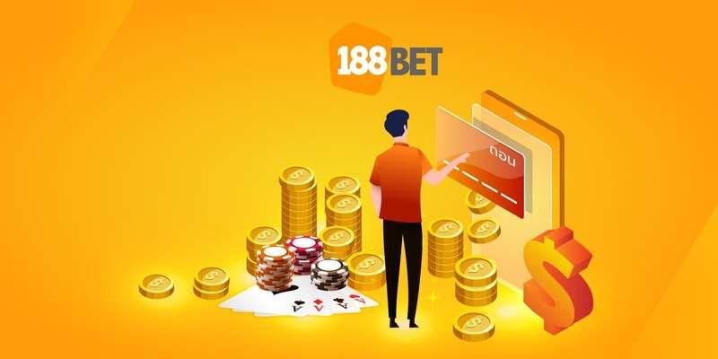 ฝากถอนเงินกับ bet 188bet มีรูปแบบที่หลากหลาย