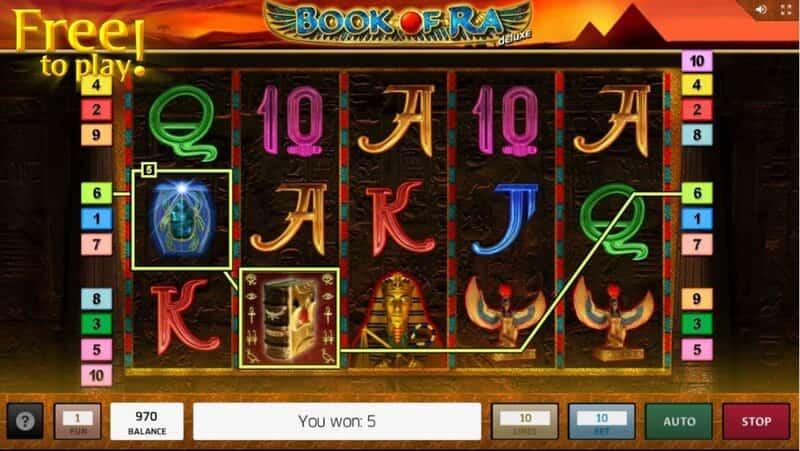 เกม สล็อต 22Bet book of ra