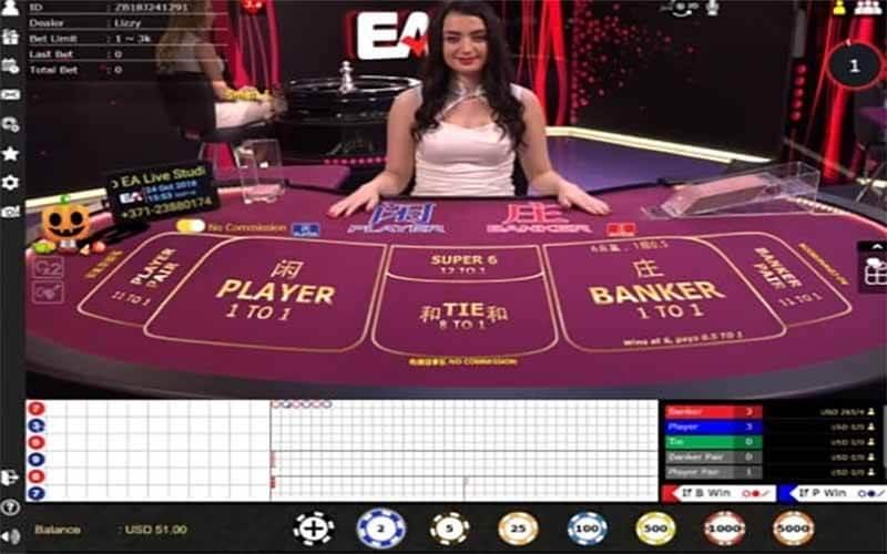 วิธีเล่นบาคาร่า Live Casino House