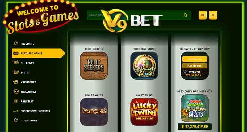 V9Bet Slot กดเล่นง่ายๆลุ้นรับเงินจริง