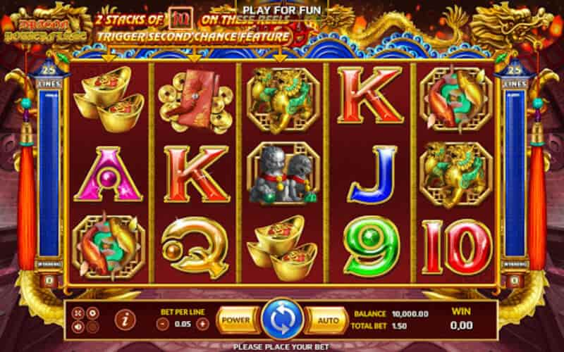 ท็อป 3 เกม สล็อต Fb88 dragon power flame
